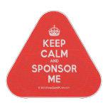 [Crown] keep calm and sponsor me  Bluetooth Speaker