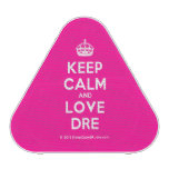 [Crown] keep calm and love dre  Bluetooth Speaker