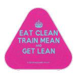 [Crown] eat clean train mean and get lean  Bluetooth Speaker