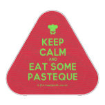 [Chef hat] keep calm and eat some pasteque  Bluetooth Speaker