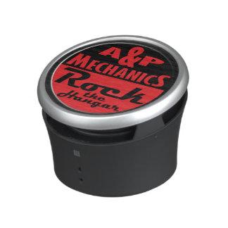 """Bluetooth Speaker """"A&P Mechanics Rock the Hangar"""""""