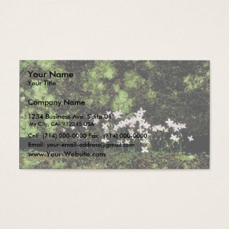 Bluets Business Card