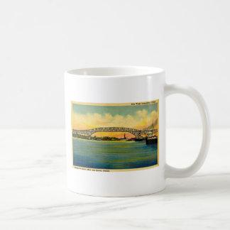 Bluewater Bridge Port Huron Michigan Coffee Mug