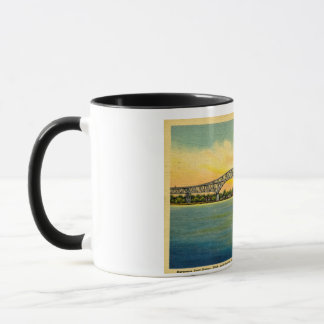 Bluewater Bridge Port Huron Michigan Mug