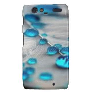 bluewater dropletts motorola droid RAZR covers