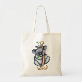Bluey and bub koala tote bag