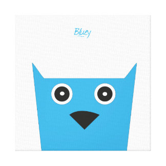 Bluey Canvas
