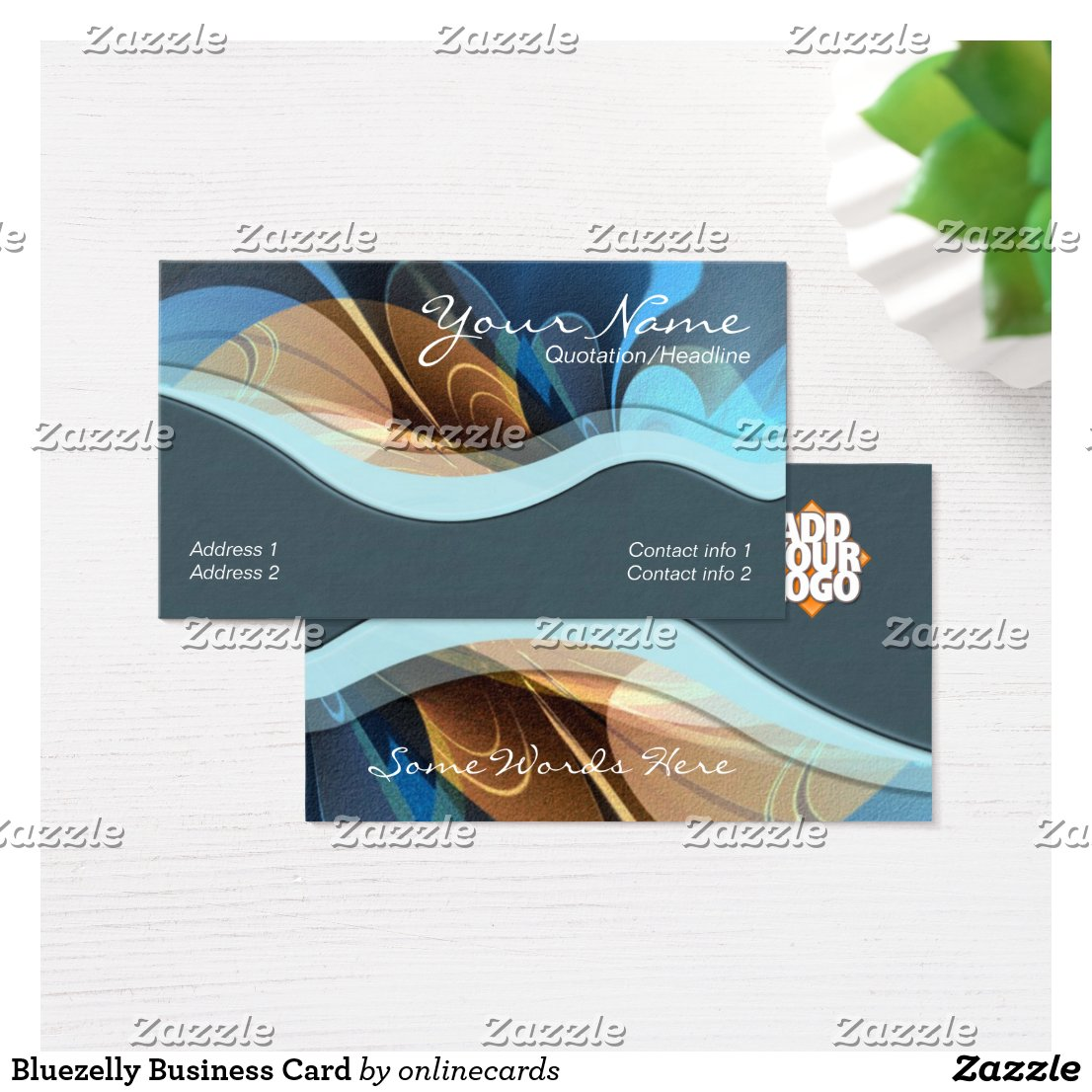 Bluezelly Business Card