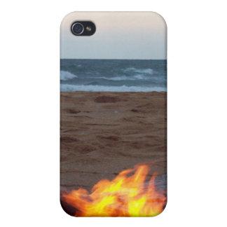 Bluff Bonfire iPhone 4 Covers