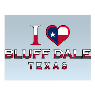 Bluff Dale, Texas Post Card