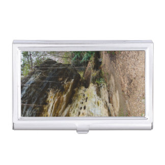Bluff Lined Walkway Business Card Case