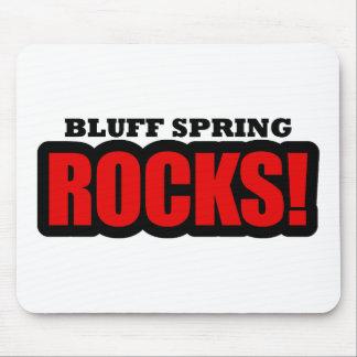 Bluff Spring, Alabama City Design Mouse Pad
