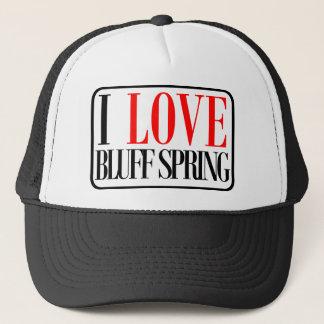 Bluff Spring, Alabama City Design Trucker Hat