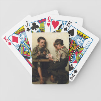 Bluffing Poker Cards