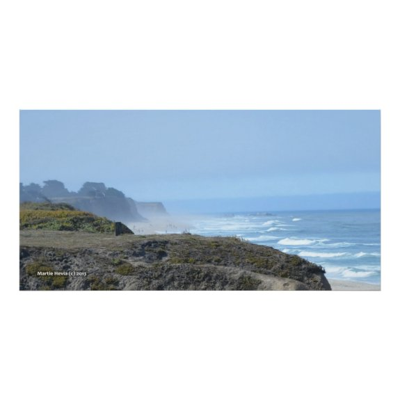 Bluffs at Half Moon Bay II - Poster