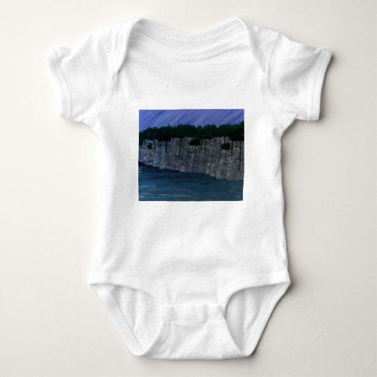 Bluffs Over Lake 1.JPG Baby Bodysuit