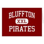 Bluffton - Pirates - High School - Bluffton Ohio Greeting Cards