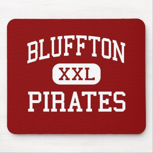 Bluffton - Pirates - High School - Bluffton Ohio Mouse Mat