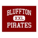 Bluffton - Pirates - High School - Bluffton Ohio Postcards