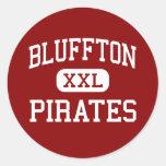 Bluffton - Pirates - High School - Bluffton Ohio Stickers