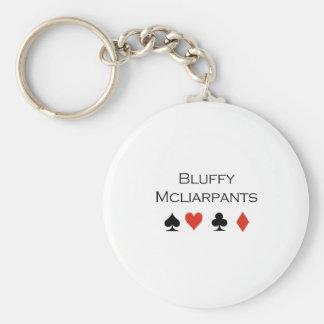 Bluffy Mcliarpants T-shirt Keychain