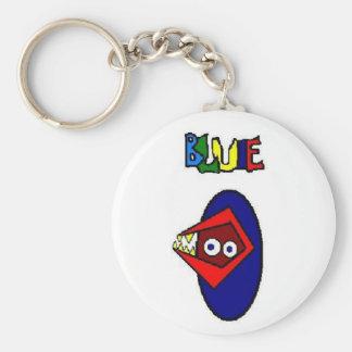 BLUIE Keychain, BY Clown Face Arts