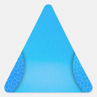 Bluie Pegatina Triangulo Personalizadas