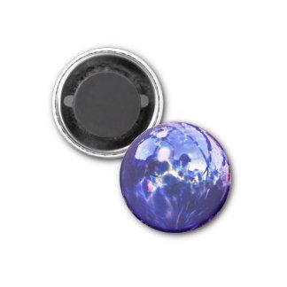 Bluish Orb 1 Inch Round Magnet