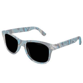 Bluish Smudge Spots Sunglasses