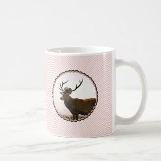 Blümchen ciervo taza de café