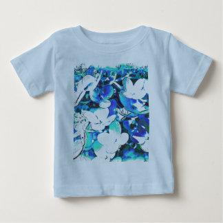Blümchen en azul t-shirt