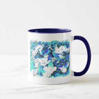 Blümchen en azul taza