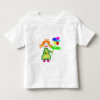 Blümchen para él - girl shirt playera de bebé