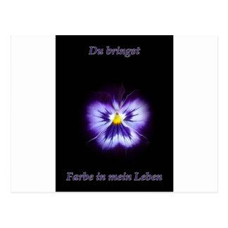 Blume Farbe Postales