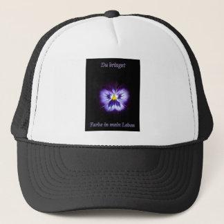 Blume Farbe Trucker Hat