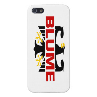 Blume Surname iPhone 5 Covers