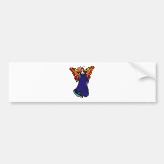 Blumenfee more flower fairy bumper sticker