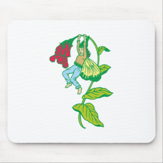 Blumenfee more flower fairy mouse pad