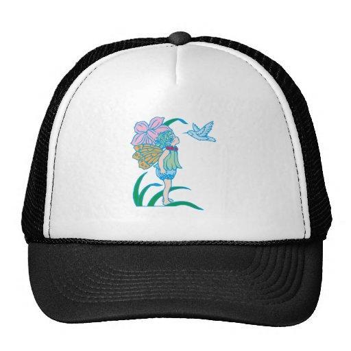Blumenfee more flower fairy trucker hat