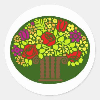 Blumengesteck flower arrangement stickers