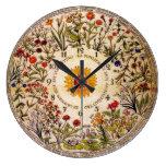 Blumenuhr Flower Clock