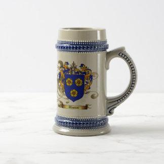 Blumner Coat of Arms Beer Stein