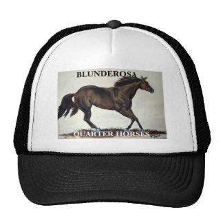 BLUNDEROSA, QUARTER HORSES TRUCKER HAT