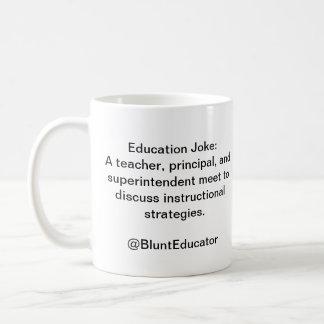 BluntEducator Education Joke Mug 1