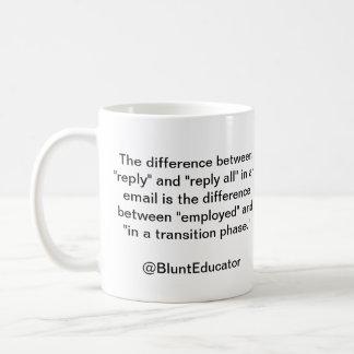 BluntEducator Email Mug