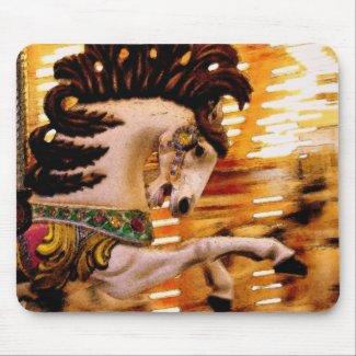 Blur #3 Horse mousepad