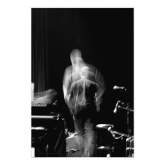 Blur and Movement on stage Jazz Show Photo print