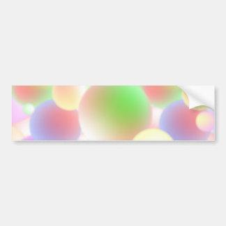 Blur Balls Bumper Sticker