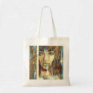 blur hair1 tote bag