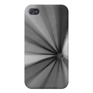Blur in Black and White iPhone 4/4S Case